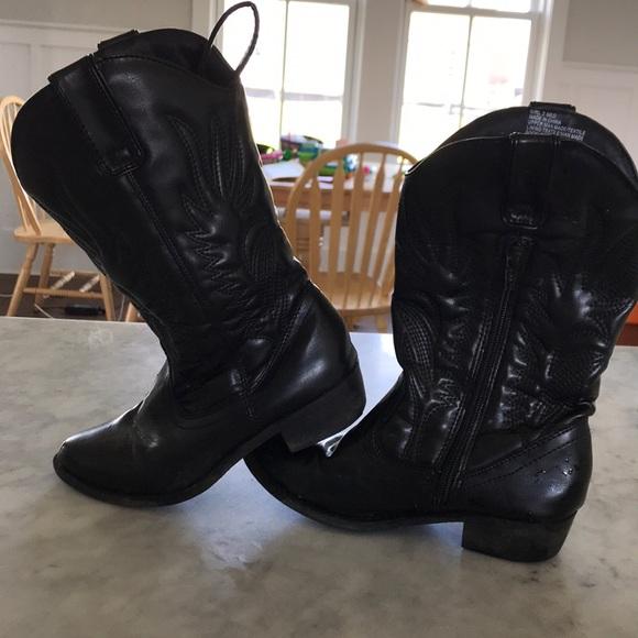 Girls Cowboy Boots In Guc | Poshmark